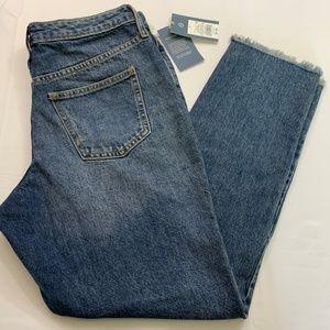 Universal Threads Size 4 Medium Wash Straight Leg